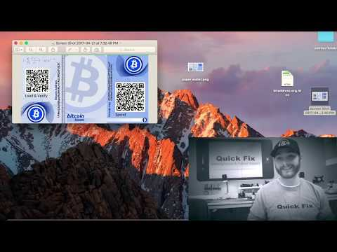 HOW TO׃ Bitcoin Paper Wallet 2017 (encryption edition)
