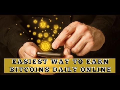 Earn Bitcoins daily in internet - Instanly Payout !!! Online Jobs