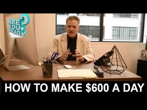 How to make money online || Make Money Online Fast And Free [2017] How I Make $600 A Day Easy