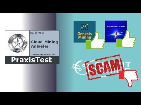 Cloud Mining Update 06 Juni - Achtung vor diesem SCAM