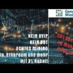 Genesis Mining Einzahlung – Bitcoin Mining (BTC) | Ethereum Mining (ETH) | Krypto Mining