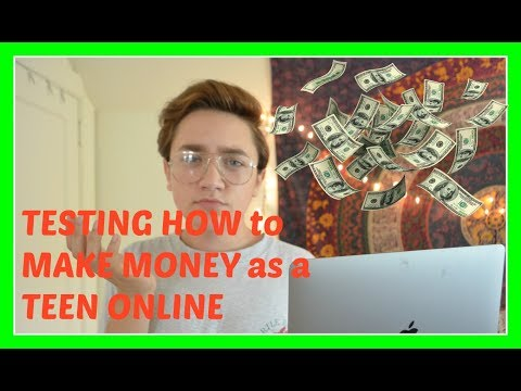 TESTING HOW to make MONEY ONLINE