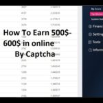 Captcha Typing jobs in Online 2017- Earn 500$-600$ in a Month without investment