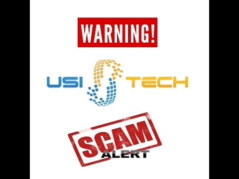 Is USI-Tech a Scam? Damn Straight it is!