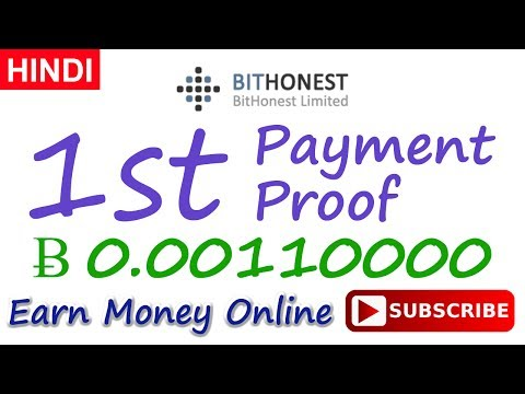 BitHonest Payment Proof Review New Bitcoin Investment Site Scam or Legit 2017