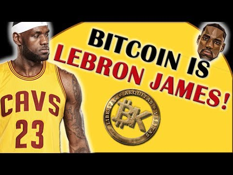 BITCOIN IS LEBRON JAMES | Bitcoin Price JUNE 11 2017 | 3000 USD | Cryptocurrency Analysis Ethereum