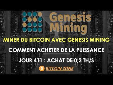 Genesis Mining - Jour 411 | Minage Bitcoin | Comment Acheter De La Puissance | Achat de 0.2 TH/s