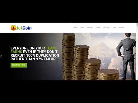 Jet-Coin Review SCAM OR NOT? Make Money Residual Income Earn Bitcoin Get Paid Daily $$$ :