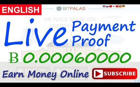 BitPalas Live Payment Proof Review New Bitcoin Investment Site Scam or Legit New HYIP Site 2017