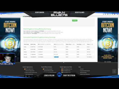 How To Earn A $1,000 A Month With Genesis Mining By Mining Dash, Roi Calculator!
