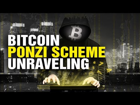 Bitcoin enters PONZI scheme stage