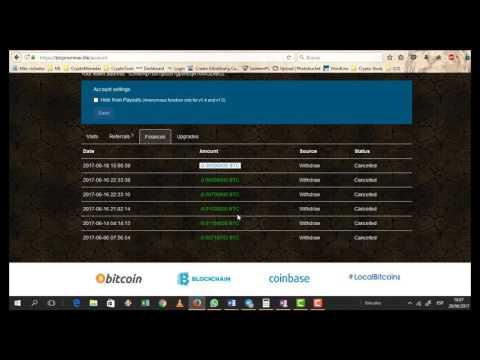 #2  BTCProMiner 100% SCAM ESTAFA Web Cierran 23 Julio 2017r Startminer Bitminer
