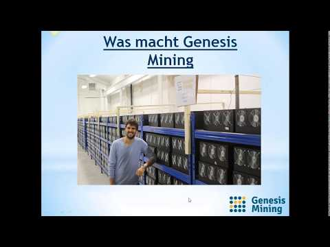 Genesis Mining Präsentation Deutsch - Investieren Im CryptoCurrency - 2500$ In Day 2017