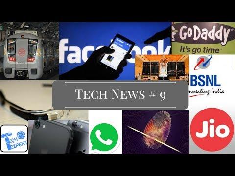 Tech News # 9 - Bitcoin Emoji,Google Glass,Kodak Tablet,Dubai Whatsapp,Facebook,Oneplus 5
