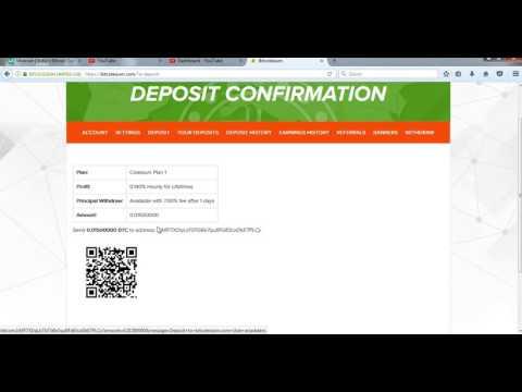 How To Bitcoin Deposit on Itcolesium