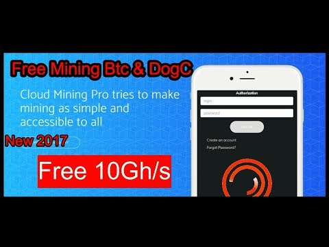 New Cloud Mining Pro 2017/Earn Bitcoin Mining Simple & Easy Way 2017/free 10Gh/s