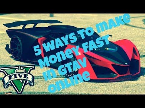 How to make money fast GTAV online