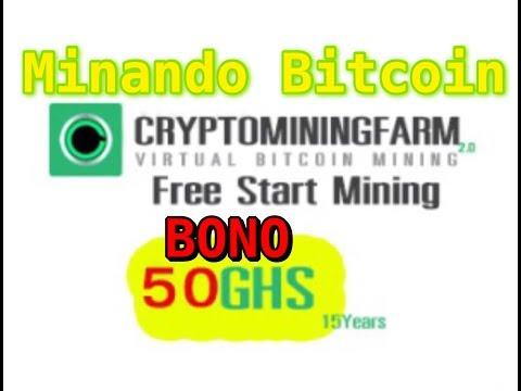 Minando Bitcoin - Explorando Criptominingfarm - Virtual Bitcoin Mining