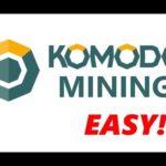 MINE KOMODO – KMD MINING – BITCOIN MINING ALTERNATIVE – NVIDIA MINING – AMD MINING CPU Ethereum