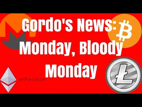 Gordo's News: Monday, Bloody Monday - Bitcoin Adoption News - ETH Energy Consumption