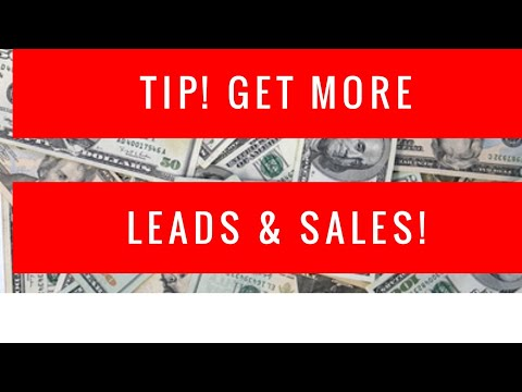 Make Money Online (Offline Marketing Lead Tip)