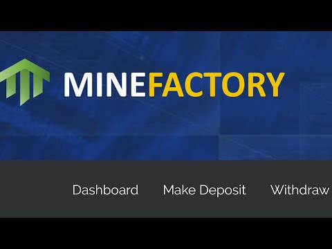 MineFactory IO - Withdrawal Scam Test  - 3 Days Later