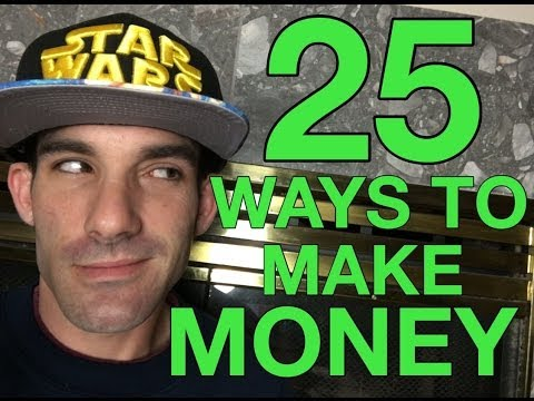 25 Ways to Make Money Online - With Reezy Resells #2017flipchallenge