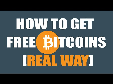 How to get free Bitcoins [REAL NO SCAM]