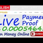 CryptEarn Live Payment Proof Review New Bitcoin Investment Site Scam or Legit New HYIP Site 2017