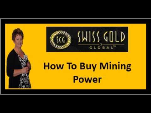 Swiss Gold Global | How to Buy Bitcoin Mining Power