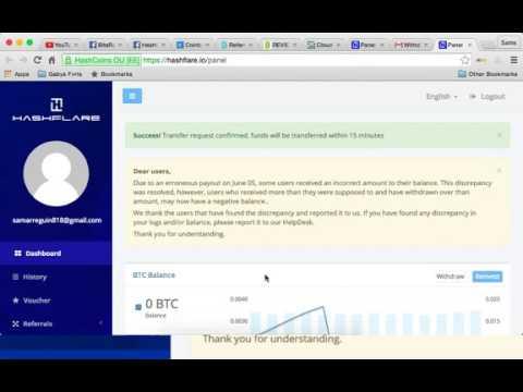 Hashflare Bitcoin Mining Litecoin Mining 2016. Hashflare Affiliate