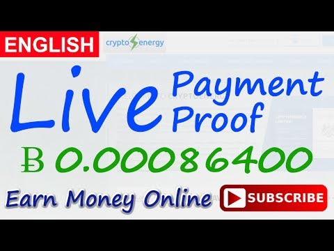 CryptoEnergy Live Payment Proof Review New Bitcoin Investment Site Scam or Legit New HYIP Site 2017