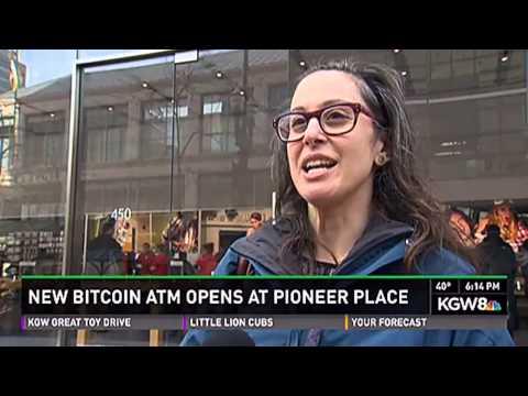 Bitcoin segment on the local news in Portland, Oregon