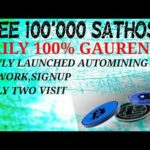 Earn minimum 55000 sat/day new launched Bitcoin mining site and fauset