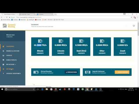 2017 Genesis Mining / Credit Card Upgrade Experiment !!. Genesis Mining Tagalog