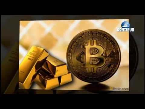 Bitcoin news in  Kantipur Television, Nepal.