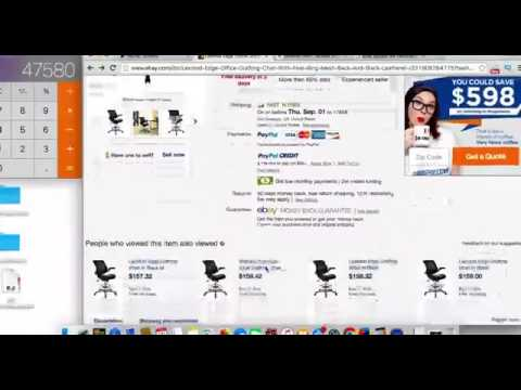 How To Make Money Online Fast 2017 - $500+ FIRST WEEK - eBay Dropshipping