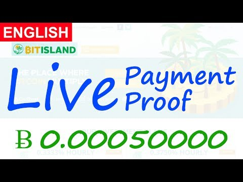 BitIsland Live Payment Proof Review New Bitcoin Investment Site Scam or Legit New HYIP Site 2017