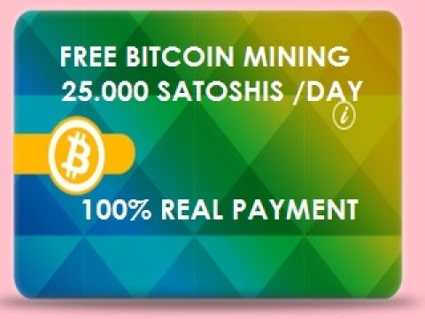 FREE BITCOIN MINING  - PAYMENT 100% -  NO SCAM