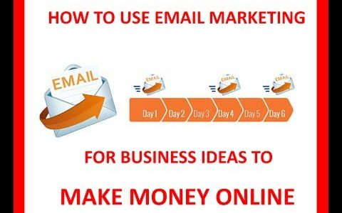 HOW TO USE EMAIL MARKETING FOR BUSINESS IDEAS TO MAKE MONEY ONLINE