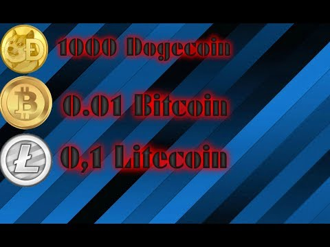 BitCoin LiteCoin y DogeCoin Diarios Gratis Faucet/Miner 2017 Nuevo