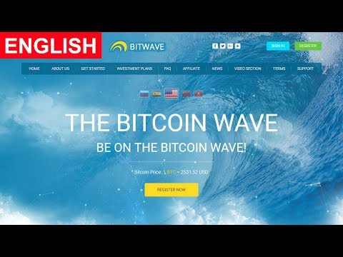 BitWave Review New Bitcoin Investment Site Payment Proof Scam or Legit New HYIP Site 2017