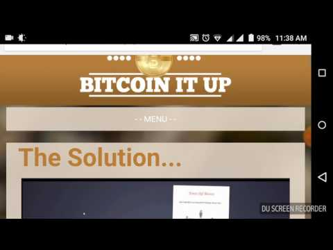 Bitcoinitup Scam? Funny 1 refer and got paid $10 in bitcoin real