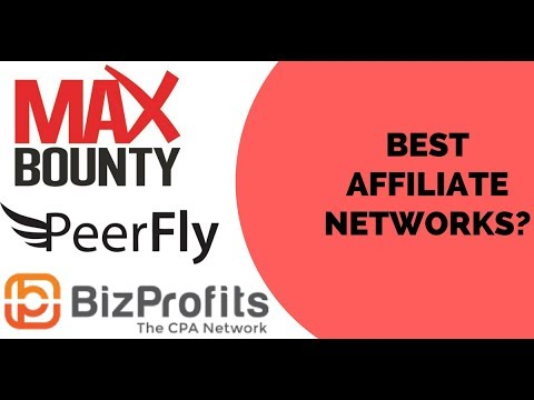 BEST Affiliate Networks? | How To Make Money Online #1