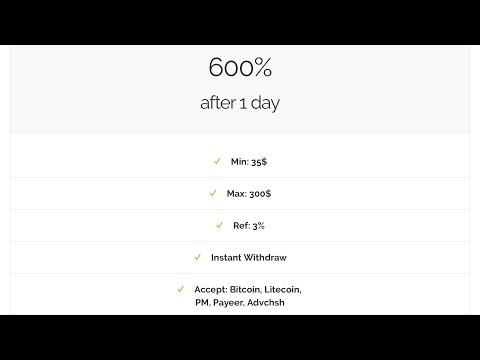 CoinCrazy.biz - Referral Withdraw ($1.05) - BitCoin Doubler Legit or Scam???