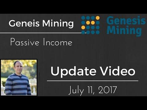 Genesis Mining Update