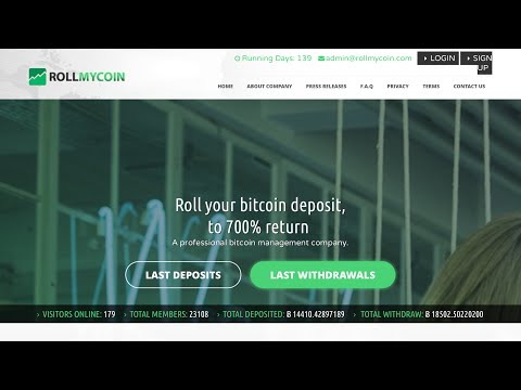 RollMyCoin - Bitcoin Doubler/Multiplier SCAM REVEALED
