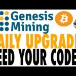 Genesis Mining – Upgrading again with viewer's codes! Send us yours!