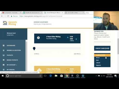 2017 Genesis Mining / 20 Th/S Payout $!$!$!$!$. Genesis Mining Live Stream