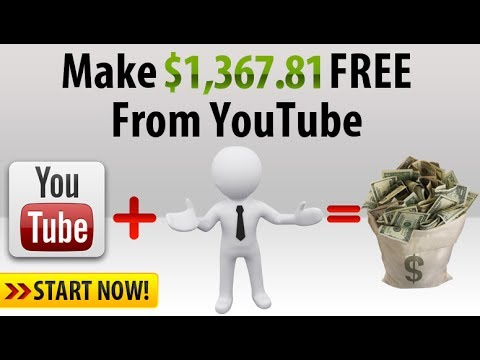 How To Create Chanel Youtube make money online - 2017
